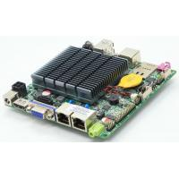 Wholesale LVDS Nano ITX Industrial PC Motherboard Dual LAN Quad Core J1900 CPU from china suppliers