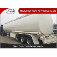 Wholesale 60000 Liters fuel tank truck trailer for edible cooking oil delivery sale from china suppliers