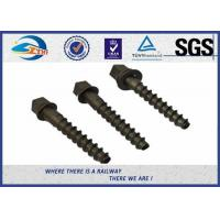 Wholesale High Hardness 5.6 Grade 35# Railway Screw Spikes , DIN Standard from china suppliers
