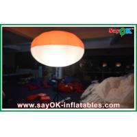 Wholesale Nylon Cloth Inflatable Led Tripod Ball , Inflatable Led Lighting Ball Decoration from china suppliers