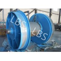 Wholesale Fully Machined Wire Rope Winch Drum With Lebus Sleeves / Oilfield Drums from china suppliers