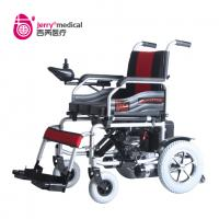 Wholesale OEM Portable Handicapped Electric Wheelchair With CE ROHS Certification 6km/H from china suppliers