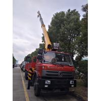 Wholesale factory direct sale best price dongfeng 6*4 RHD 10tons truck with crane, dongfeng 210hp 10tons truck mounted crane from china suppliers