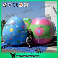 China 2M Customized Colorful Inflatable Egg For Easter Decoration Festival Decoration on sale