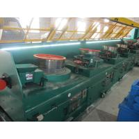 Quality 0.7mm Carbon Steel Wire Straight Wire Drawing Machine , High Efficient Wire Processing Machine for sale
