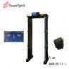 Buy cheap 255 level sensitivity Foldable walk through metal detector / Security Metal Detector Gate from wholesalers