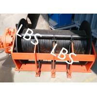 Wholesale Portable Small Hydraulic Cable Winch With Hydraulic Motor 10KN - 400KN from china suppliers
