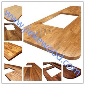 Buy cheap sell Oak worktops, Solid Oak Kitchen worktops, Oak Kitchen worktops, Solid Oak Counter Top, Edge Glu from wholesalers