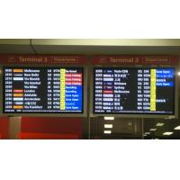 Wholesale Anti Interference Ability Passenger Flight Information Display For Hongkong Airport from china suppliers