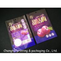 Wholesale Semi Vmpet Laminated Dried Fruit Bags , Recyclable Dry Fruit Bag Non - Leakage from china suppliers