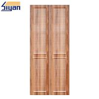 Wholesale Modern Simple 2 Louvered Closet Doors Or Wooden Closet , CARB2 Standard from china suppliers