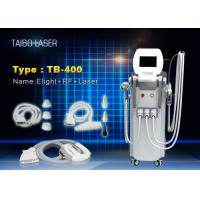 Wholesale E-light IPL Hair Depilation RF Wrinkle Removal ND Yag Laser Tattoo Removal Device 4 in 1 from china suppliers