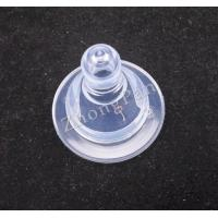 Wholesale OEM silicone rubber baby bottle with nipples + PP lid & ring silicone baby products from china suppliers