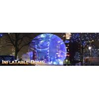 Wholesale Huge Christmas Inflatable Snow Globe For Display from china suppliers