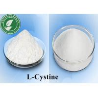 Wholesale 99% Purity Pharmaceutical Raw Materials powder L - Cystine for anti hair loss , CAS 56-89-3 from china suppliers