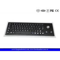 Wholesale Compact USB Industrial Computer Keyboard with Optical Trackball and Korean Layout from china suppliers