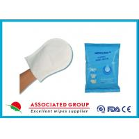 Wholesale Disposable Rinse Free Wet Wash Gloves For Body Cleaning And Sterilizing from china suppliers