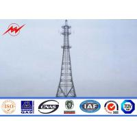 Wholesale 30m / 60m Conical 138kv Power Transmission Tower Power Transmission Pole from china suppliers