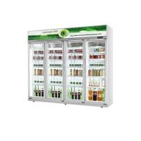 Quality Upright Commercial Glass Door Refrigerator Cold Drink Display Glass Door Cooler for sale