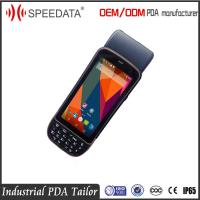 Quality Speedata PDA Biometric Fingerprint Scanner Built In Printer Water Proof for sale