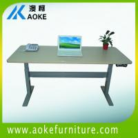 Wholesale with cross bar  height adjustable tables from china suppliers