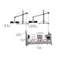 Wholesale 8-10m/min Wire Rope Aluminum Construction Suspended Working Platform, Swing Stage ZLP630 from china suppliers