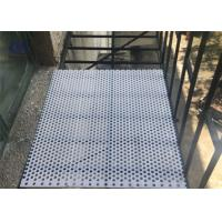 Wholesale 3003 6061 6063 5052 Perforated Aluminum Sheet , Alloy Aluminum Plate For Guards from china suppliers