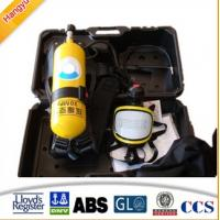 Wholesale 5L 6L Respirator Fire Fighting Breathing Apparatus Set from china suppliers