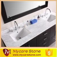 Wholesale Cheap granite Double sink granite vanity tops from china suppliers