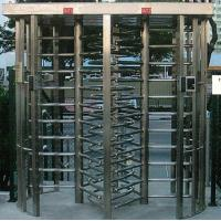 Wholesale 30 Persons / Min Stainless Full Height Turnstile with Sound and Light Alarm for Museum from china suppliers