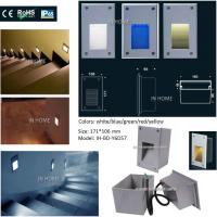 Wholesale Recessed RGB LED Wall Lights / 3020 SMD LED Indoor Stair Lights from china suppliers