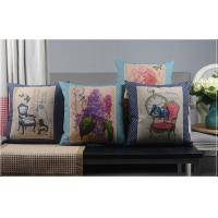Wholesale Europe Style Vintage Chair Polyester Linen Luxury Sofa Cushions from china suppliers