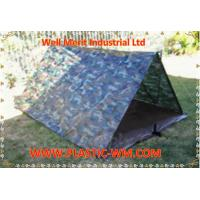 Wholesale Outdoor Camo Tarpaulin Camouflague Cover  Camping Ground Sheet from china suppliers