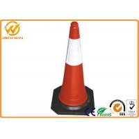 Wholesale Construction Site Traffic Safety Cones , Road Safety Reflective Lightweight Traffic Cones from china suppliers