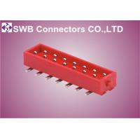 Wholesale IDC 1.27 mm Pitch Single Row Connector Board to Board Crimp Style from china suppliers
