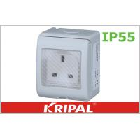 Wholesale BS Standard 13A IP55 British Socket , Waterproof 3 Flat Pin Socket from china suppliers