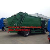 Wholesale 4 x 2 Driving 10 CBM  Garbage Compactor Truck of Sinotruck from china suppliers
