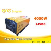 Buy cheap Dc ac off grid solar inverter pure sine wave 48v to 220v 4000w home inverter for all kinds of appliances from wholesalers