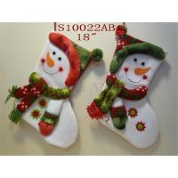 Wholesale Santa Claus Figurine Big Sockings Christmas Stocking from china suppliers