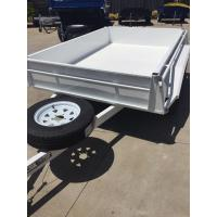 Wholesale Industrial 10x5 Heavy Duty Tandem Axle Painted Trailer 2000KG With Mudflaps from china suppliers
