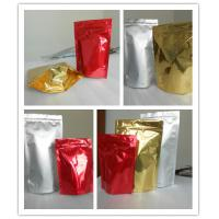 Wholesale High Puncture Resistance Shiny Printing Stand up Bottom Gusset Plastic Pouches Packaging from china suppliers