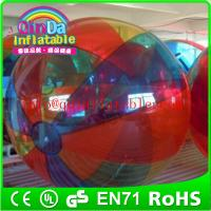 Wholesale Guangzhou QinDa exciting walking ball, walking water ball, walk on water ball from china suppliers