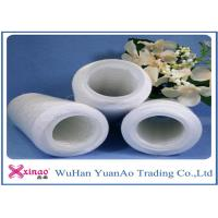 Wholesale 602 603 Raw White Bright  Spun Polyester Yarn / Yarn On Dye Tube For Sewing Yarn from china suppliers