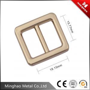 Quality Handmade design metal adjustable slide buckles for bag accessories , backpack metal slide buckle for sale