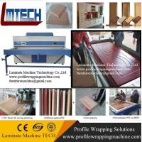Buy cheap PVC decorative film kitchen Vacuum Membrane Pressing Machine from wholesalers