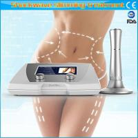 Wholesale Adjustable Acoustic Wave Therapy Machine / Body Slimming Machine Non Invasive Treatment from china suppliers