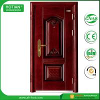 Wholesale modern gate door main entrance steel safety door design 2016 with warterproof and fire rating function from china suppliers