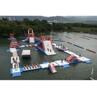 Wholesale Commercial Inflatable Water Parks For Amusement Resort Flame Resistance from china suppliers