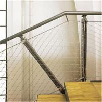 Buy cheap Ferruled Inox 1.6mm Cable Mesh For Staircases from wholesalers