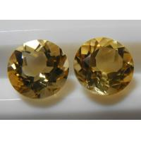 Wholesale Natural Citrine Gemstones Round Loose Calibrated Briolettes Faceted cut  from china suppliers